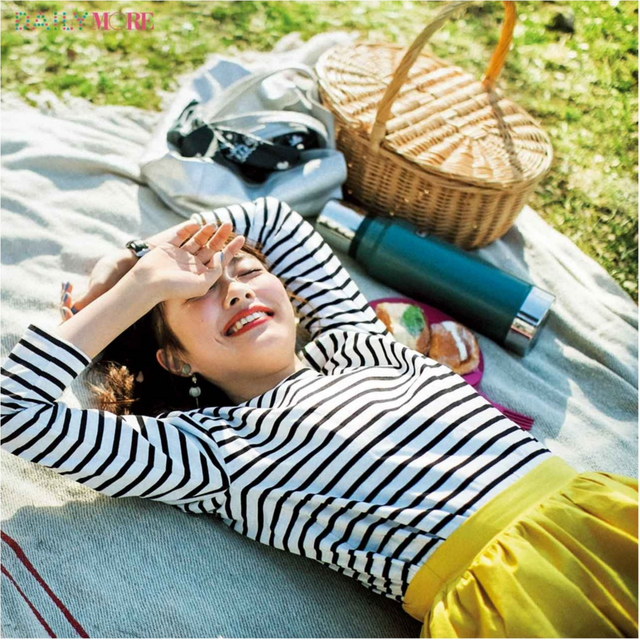 暑い日こそ元気にね♪ 気分が上がる「夏のきれい色」コーデまとめ♡_1_21
