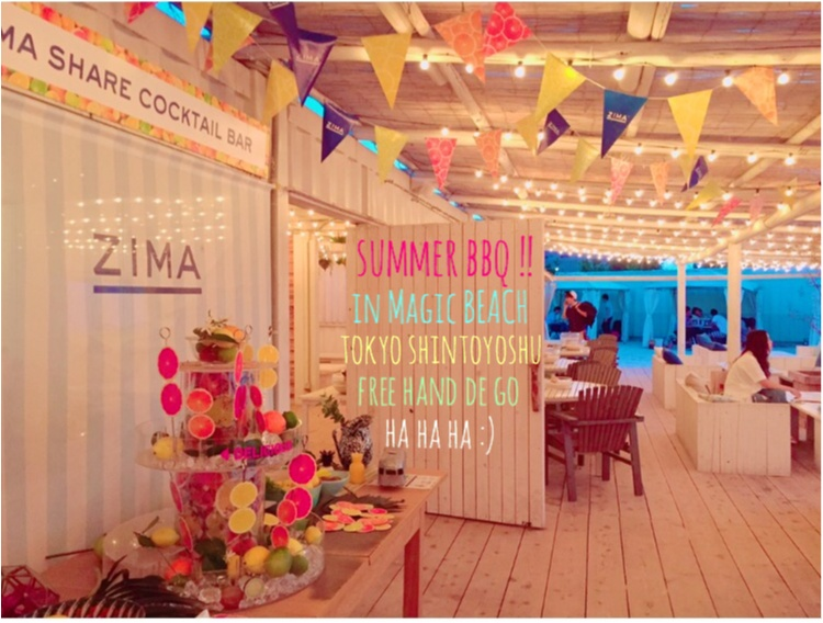 【FOOD】手ぶらでGO!w 今ドキBBQはリゾート空間で夏らしく楽しむ☆話題のスポットへ行ってきました!_7