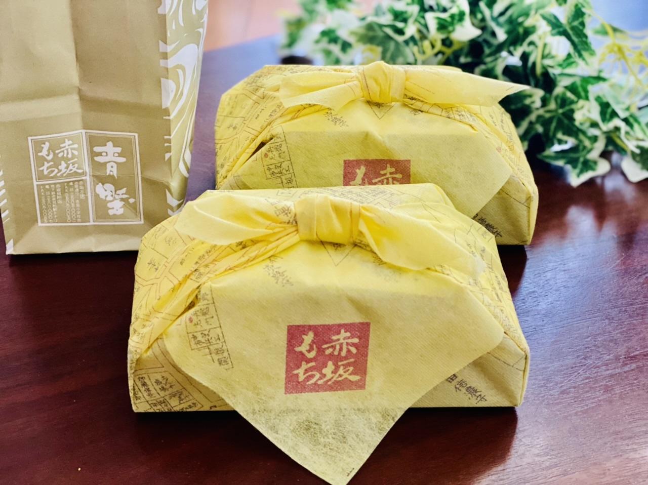【赤坂青野】和菓子を買うならココ!小風呂敷包みがおしゃれ《赤坂もち》が絶品♡_2