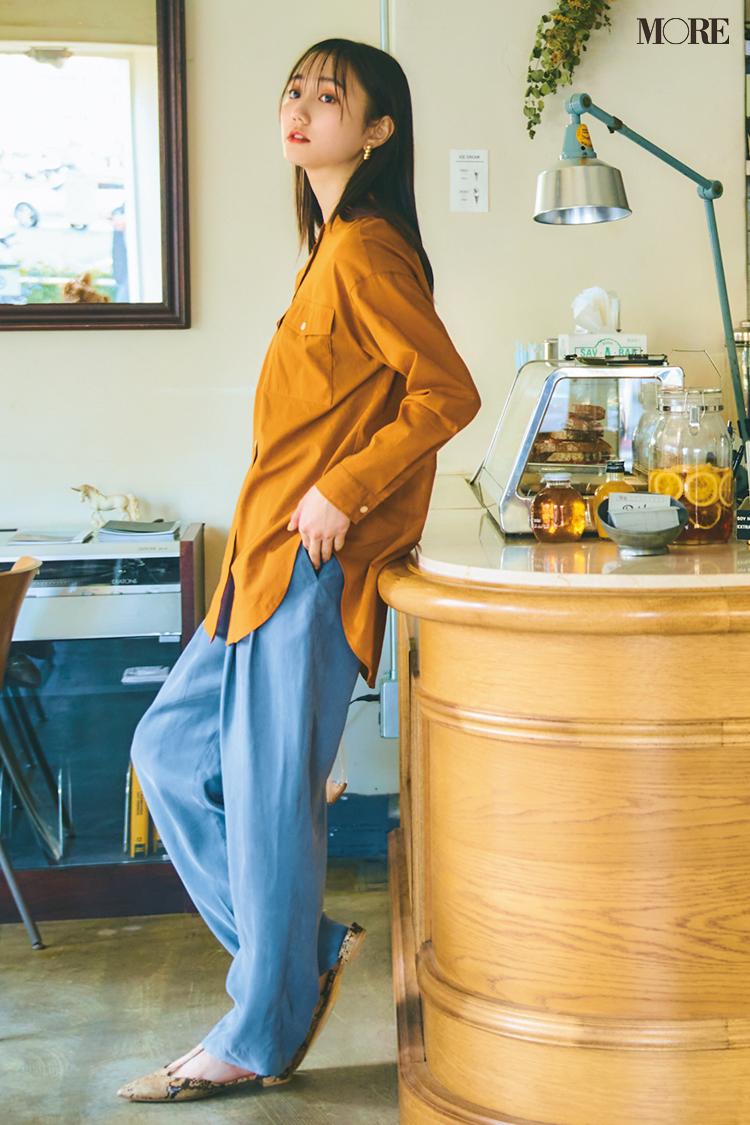 【今日のコーデ】<鈴木友菜>7月のスタートは大人っぽく華やぐきれい色コーデで鮮度を上げて!_1