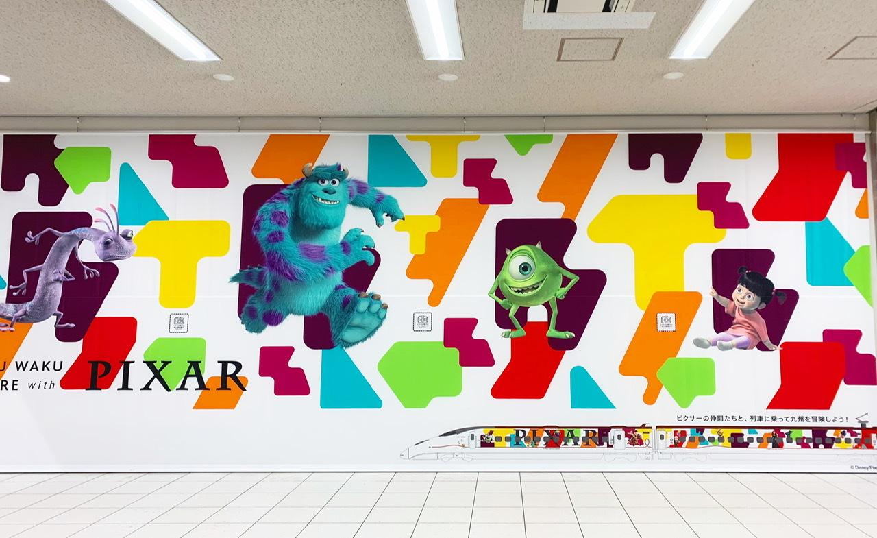 【JR九州】ピクサー新幹線が期間限定で登場!トイ•ストーリー25周年記念♡乗車レポ♡_2