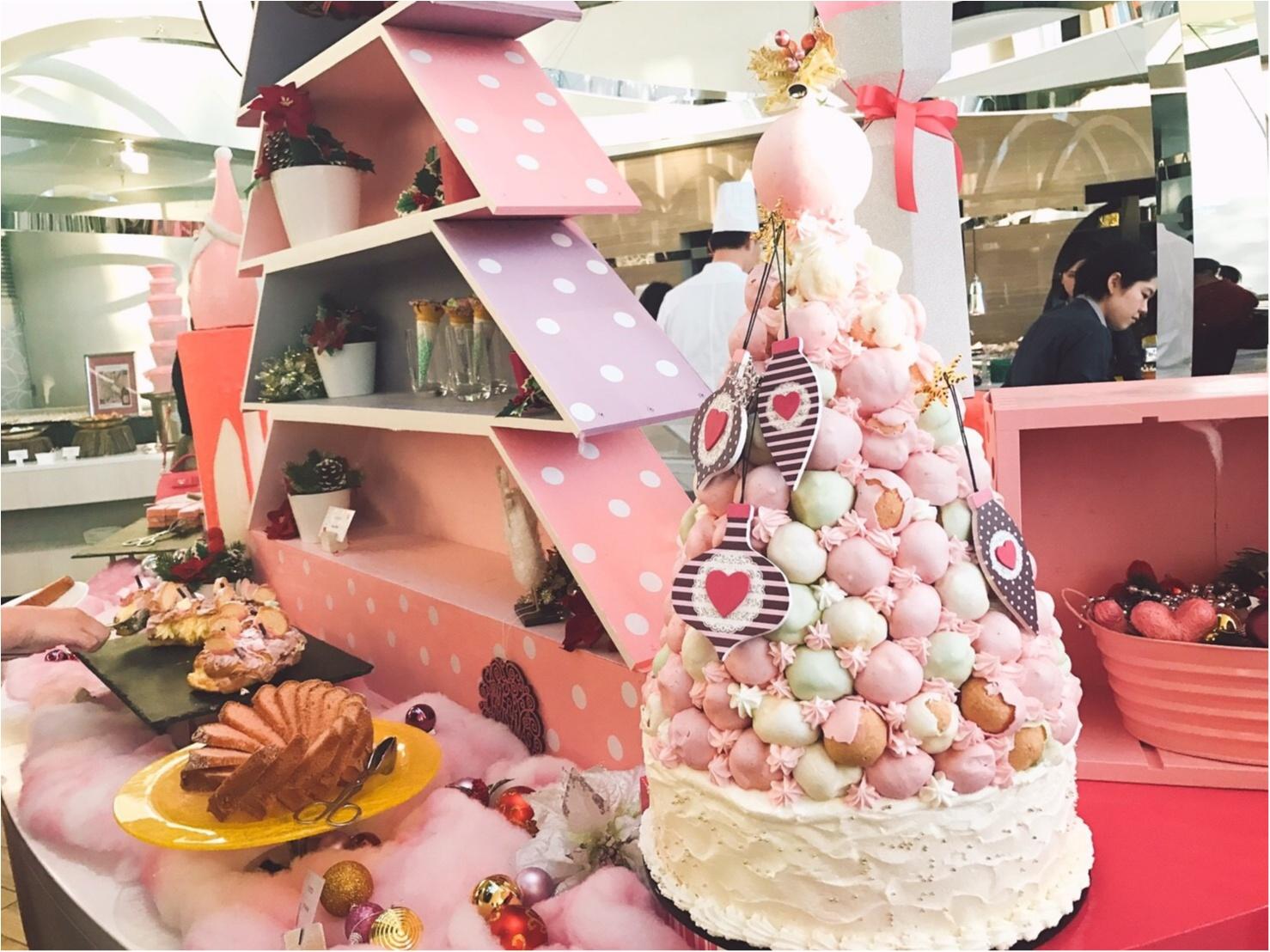 ♡モアハピ女子会!ヒルトン東京ベイのピンクだらけの可愛すぎるブッフェがお得すぎる♡_1