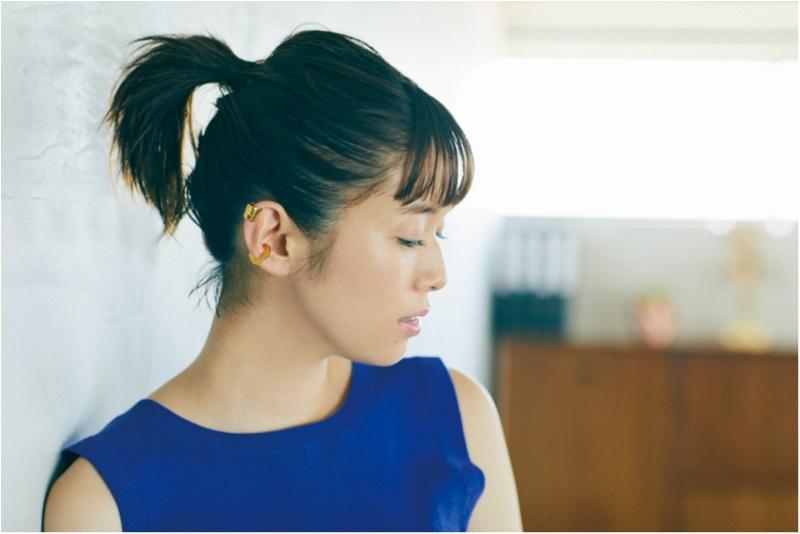 """ボブでできる! 佐藤栞里の """"こなれひとつ結び"""" で女っぽヘアアレンジ3選♡_1"""