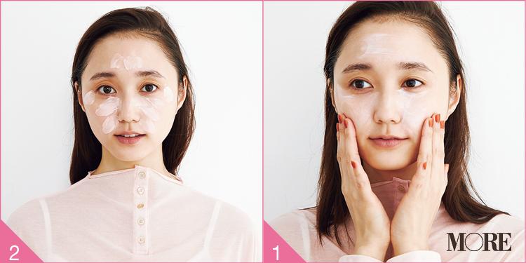 """【イガリシノブさんの最新メイク③】イエベもブルベも、""""透けピンク肌""""で血色感のある旬顔に! 潤いと幸福感あふれる美肌を作る全プロセスを一挙公開♡_3"""