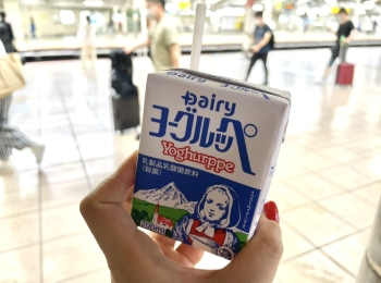 JR秋葉原駅で全国のご当地牛乳を飲み比べ?!ホームにひっそり佇む「ミルクスタンド」を発見!