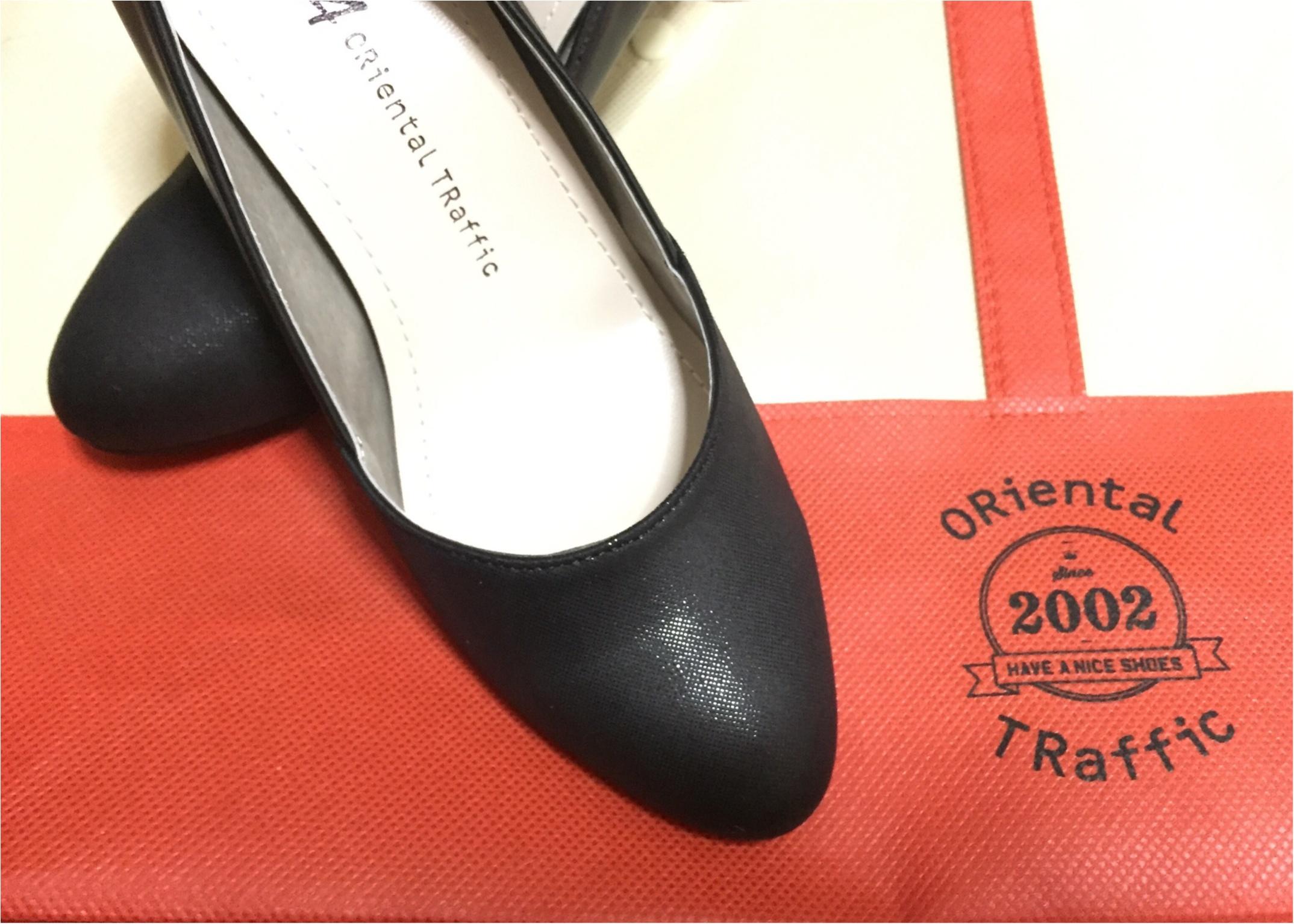 《プチプラでお気に入りの靴を手に入れる方法!》私は定番に使えるブラックパンプスを2000円でGETしてきました★_2