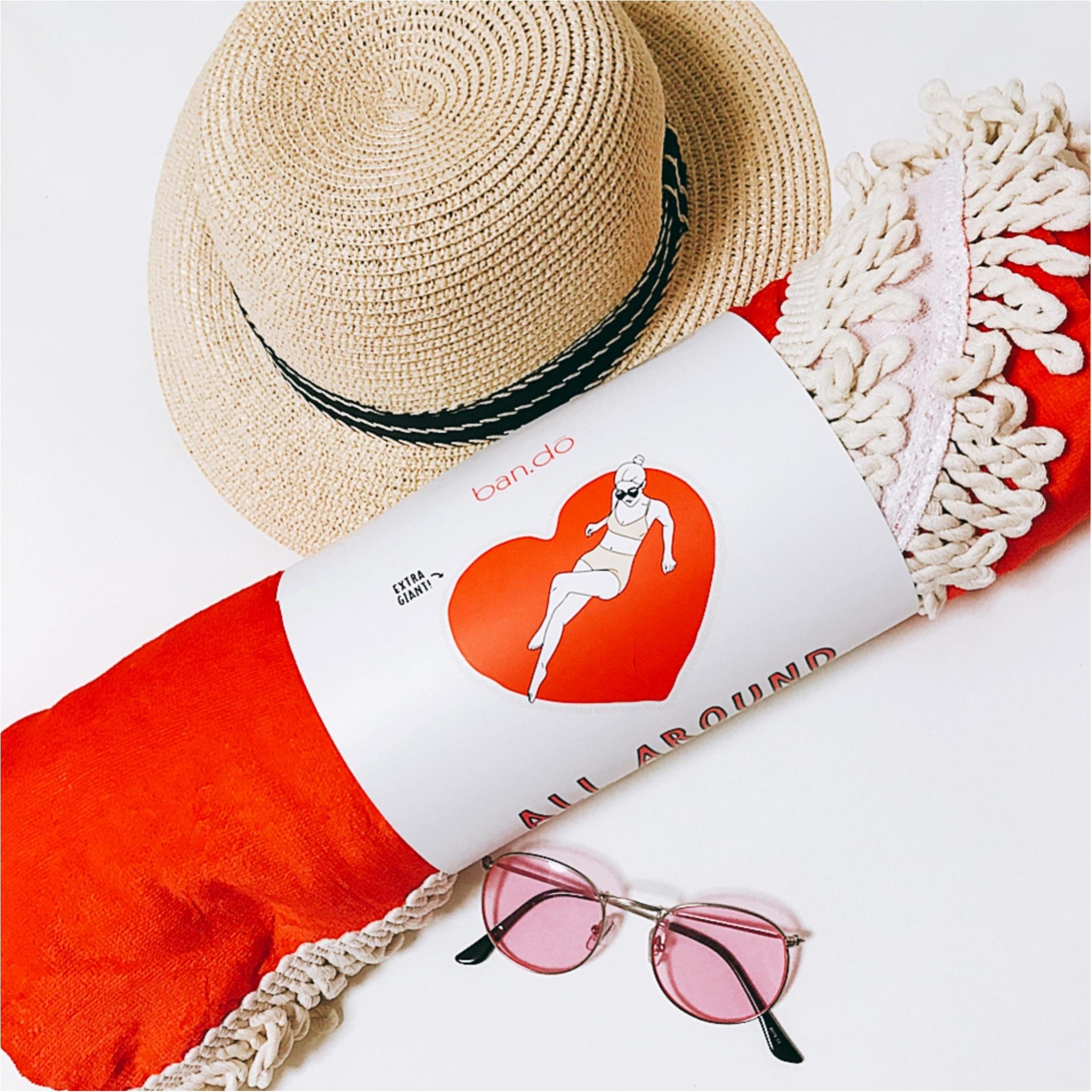 ★BIGなハート♡に一目惚れ!大注目のビーチマット。私が買ったのはコレ★_1