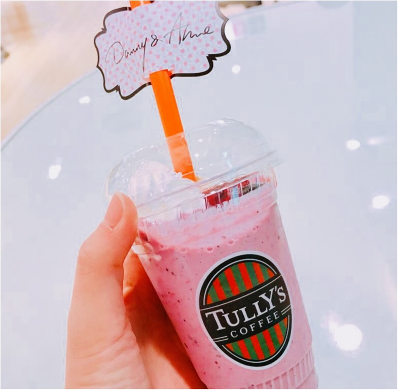 【TULLY'S (タリーズ)】アパレルブランド《Danny&Anne》とコラボしちゃった!ベリーづくし❤︎のコラボドリンクがかわいい♡♡_3