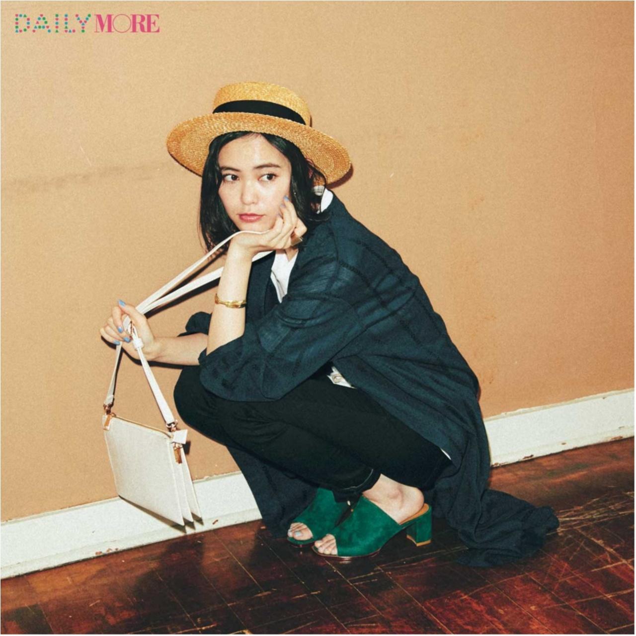 いつもの服が一気にフレンチムードに♪ お茶目な「カンカン帽」コーデまとめ♡_1_3