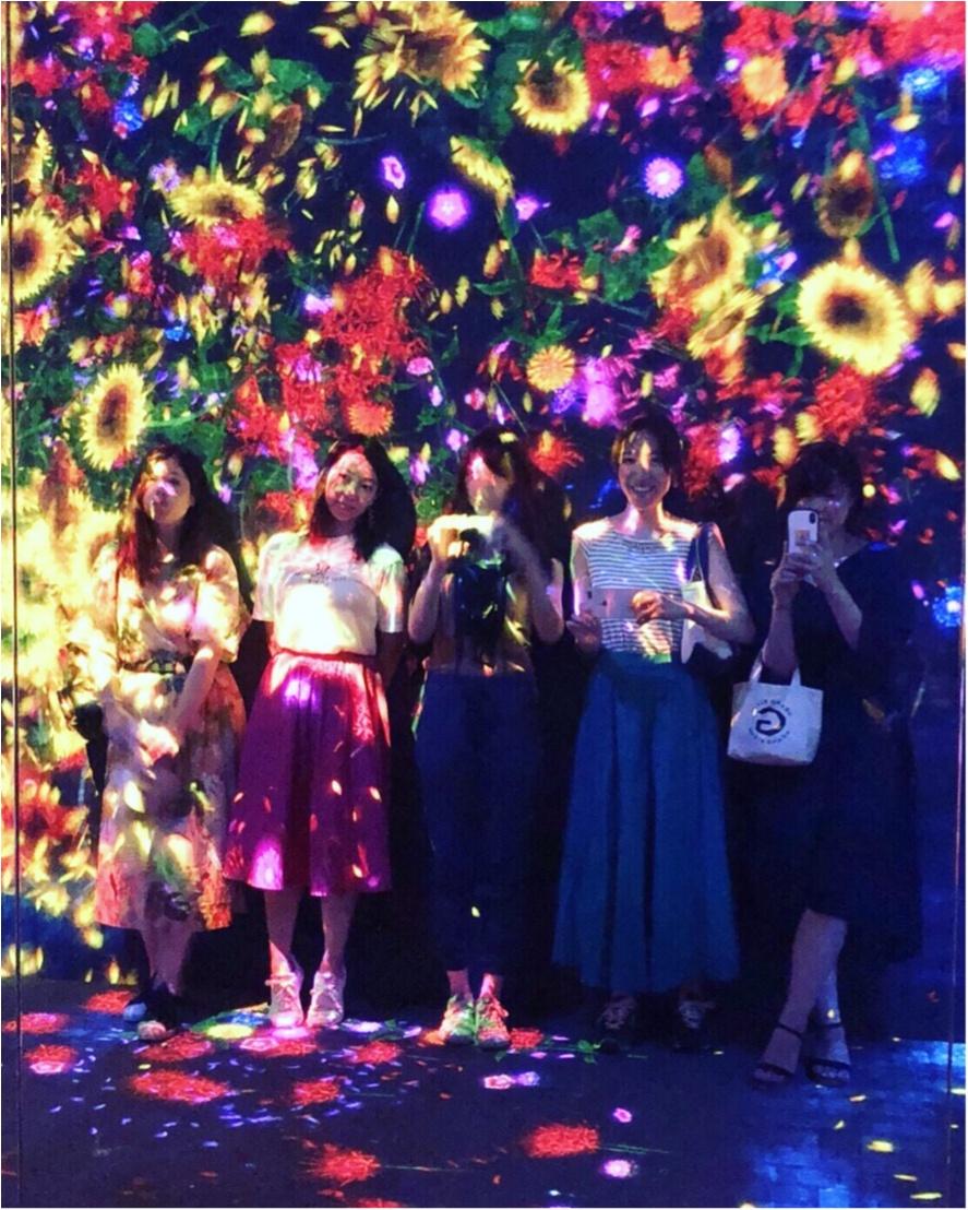 【お台場】チームラボのデジタルアートミュージアムは写真を撮りたくなるスポットがたくさん♡_6