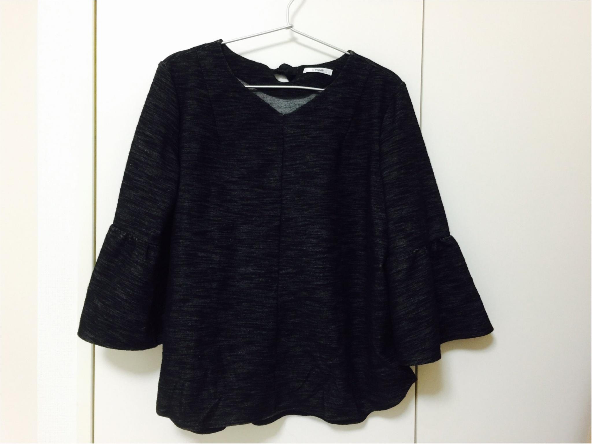 【しまむらで1500円!】春のブラウス購入!袖に注目!!_2