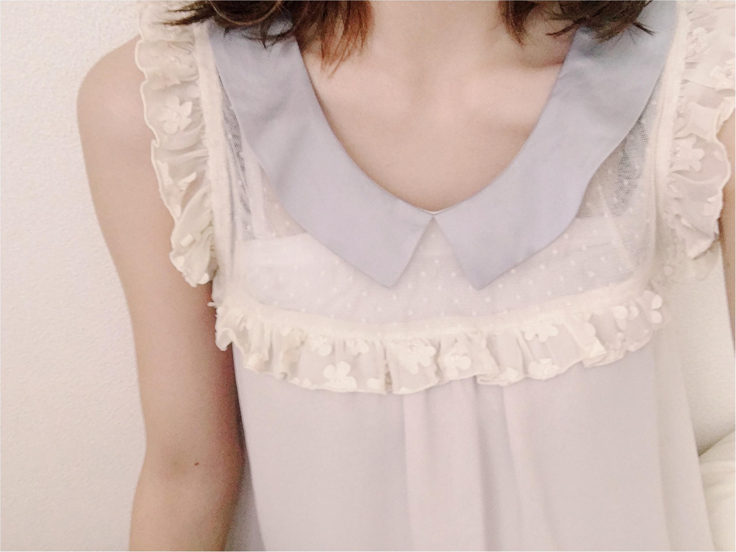 ★《flower》トップス×《UNIQLO》デニム=きれいめカジュアル♡♡_2