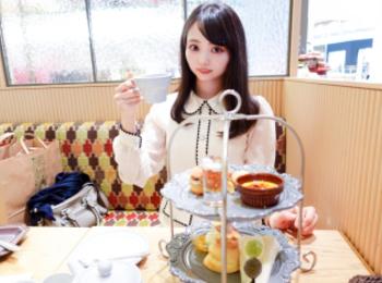 【西宮北口】秋の果実のアフタヌーンティー『TOOTH TOOTH patisserie&cafe』フルーツサンドが絶品!
