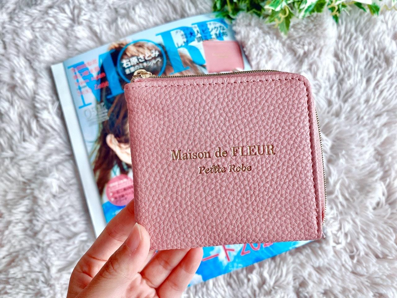 【MORE5月号】今月買うべき神付録!《メゾンドフルール》レザー調ミニ財布が可愛すぎ♡_2