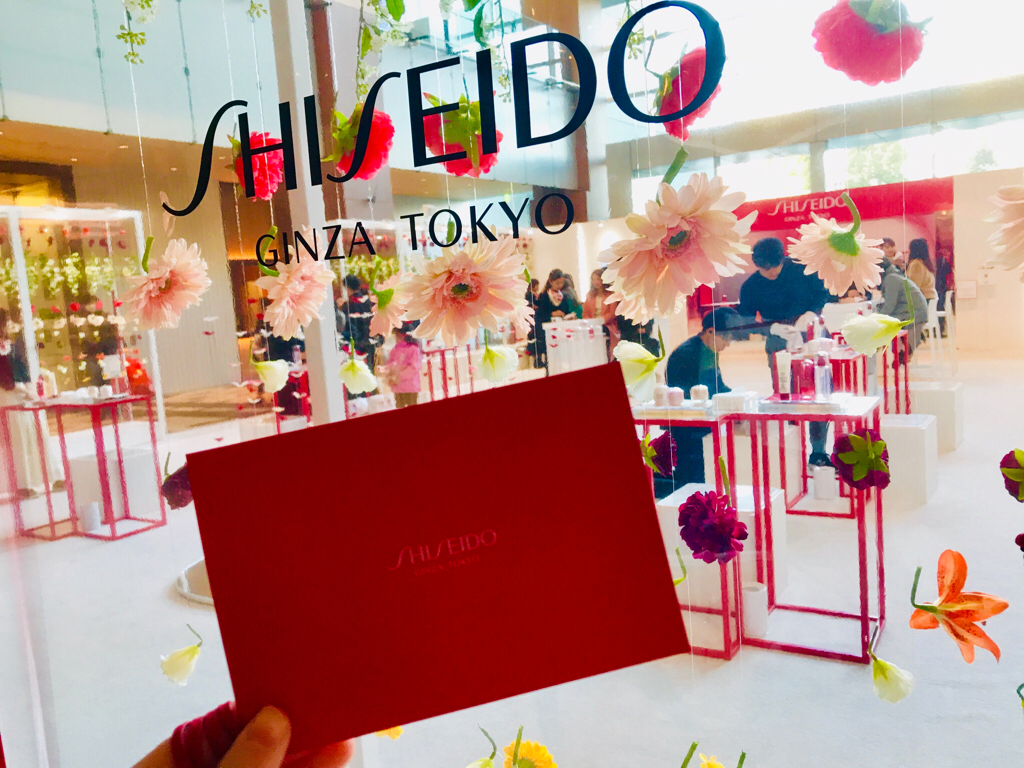 【SHISEIDO】お花いっぱい❤︎肌診断でブーケGET★《D&R Beauty House》イベントへ♡_1