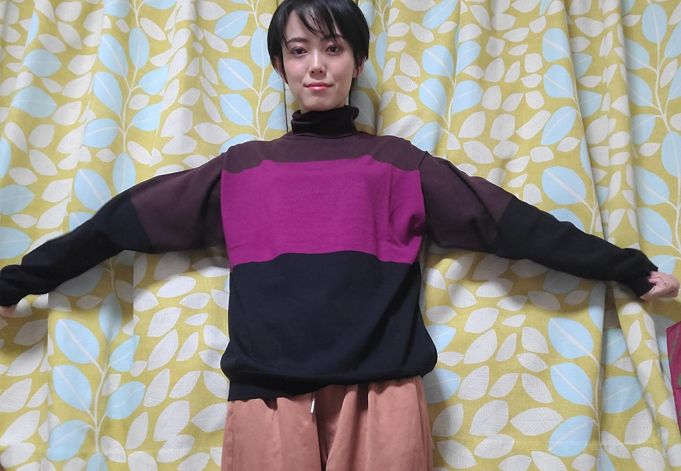 【ユニクロ+J】めちゃ使える!シンプルかわいいニット❤️_2