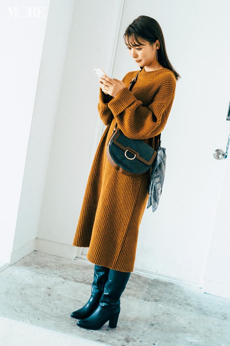 2018年秋のファッション ニット27