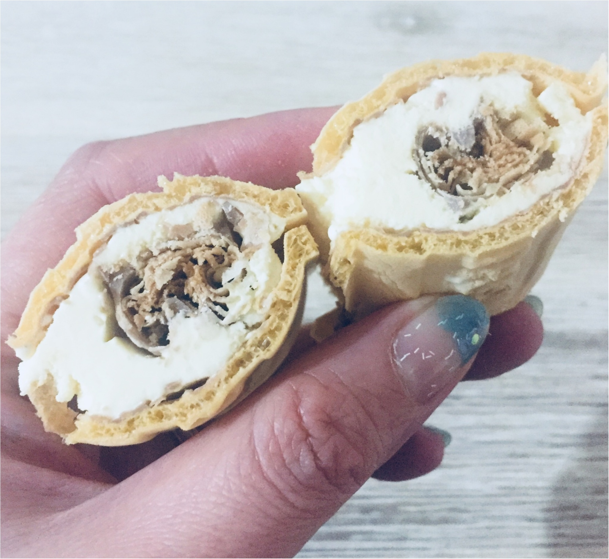 2月12日よりついに関東圏にて発売✌︎★大人気『ルマンドアイス』早速食べちゃいました❤︎_2
