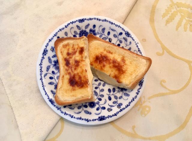 時短!簡単♡家事ヤロウでバズったバスクチーズケーキトースト!_13