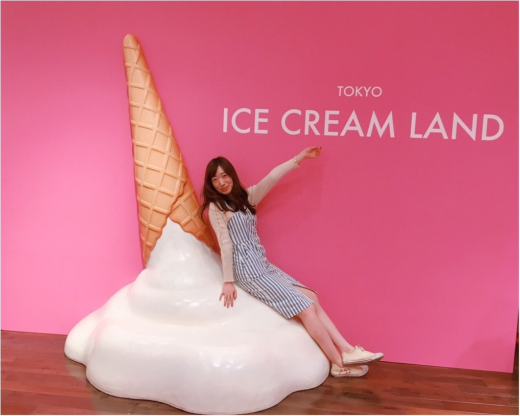 アイスクリームの夢の国「ICE CREAM LAND」でフォトジェニック空間を満喫♡横浜コレットマーレ5/27まで!_3_2