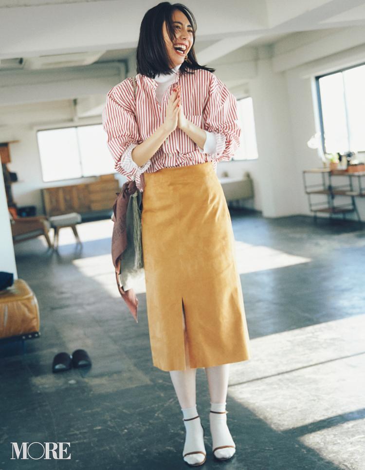 春のシャツコーデ特集《2019年版》- 20代女子におすすめ!オフィスカジュアルにちょうどいい きれいめシャツのコーディネートまとめ_11