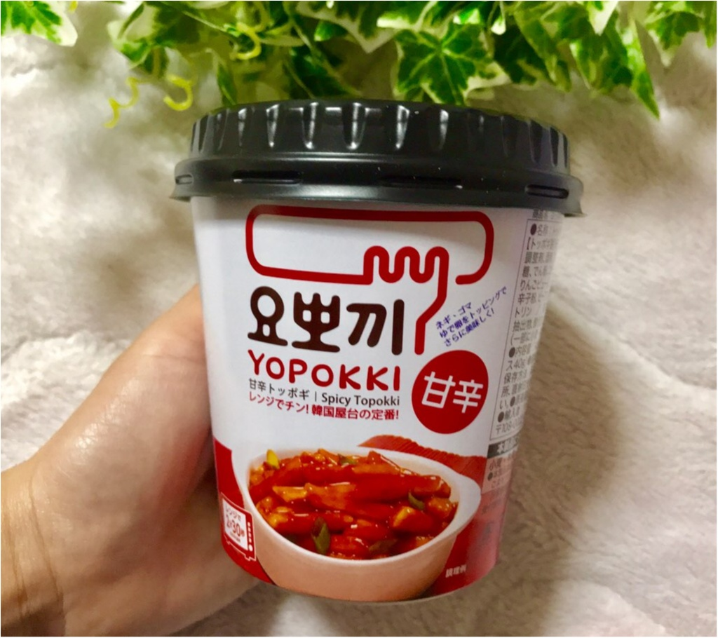【PLAZA】韓流第3次ブーム到来!?韓国の定番料理《トッポギ》が、即席で食べられる❤︎やけに売れてる人気の理由をお教えしちゃいます♡♡_1