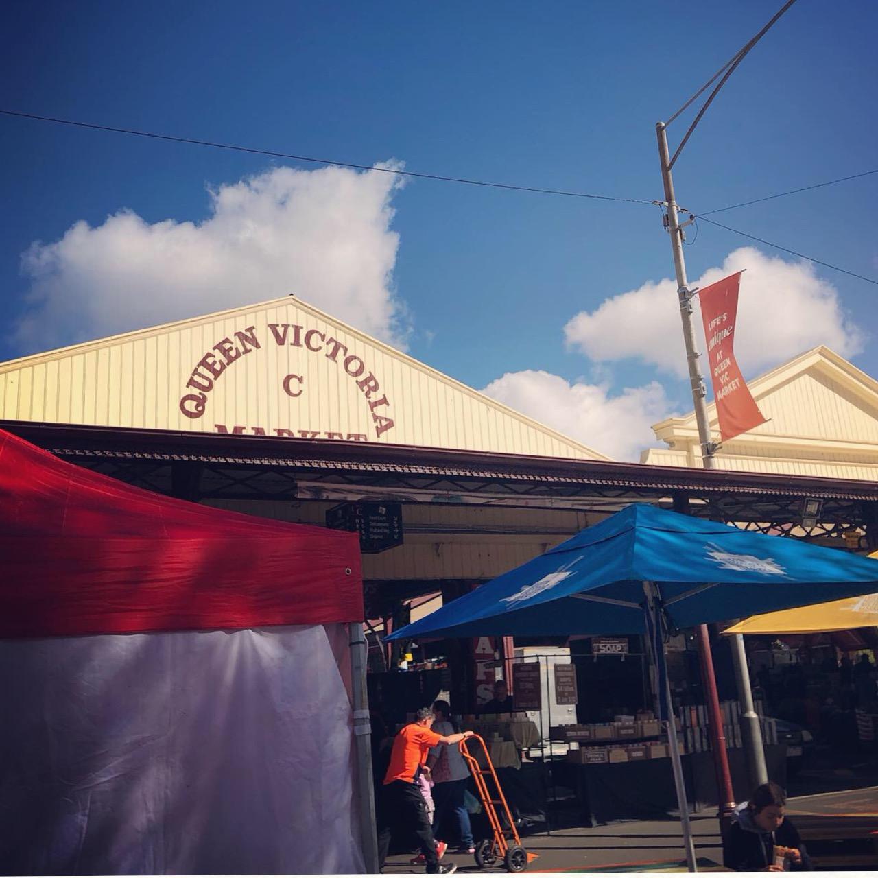 <オーストラリア*女子旅④>メルボルンの台所♡クイーンビクトリア・マーケットで人気のオシャレコーヒーを飲もう!_1