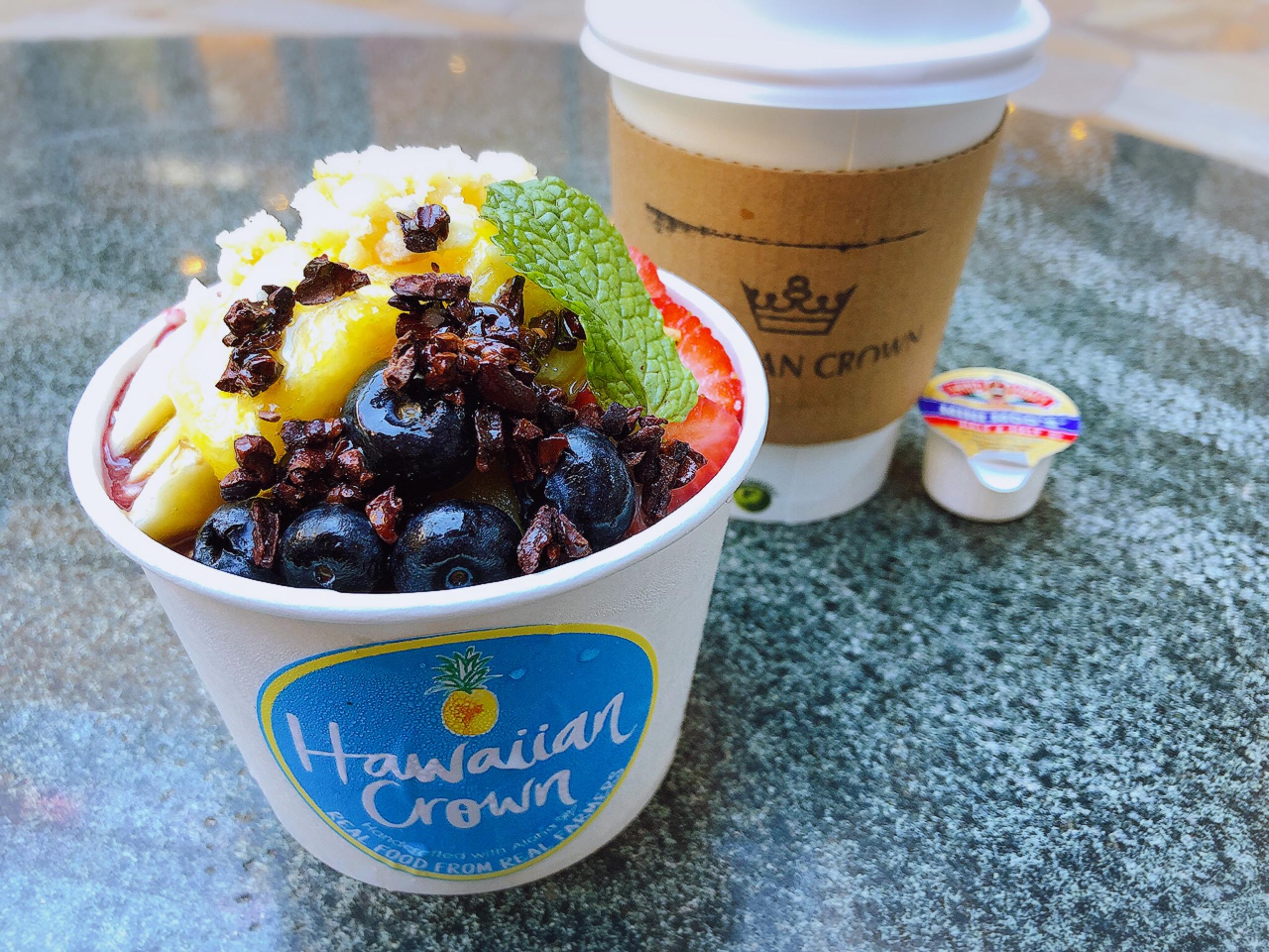【Hawaii】ハワイ好きさん必見!あまあまパイナップルが美味◡̈♡絶対食べたい!アサイーボウルのお店に行ってきました♩_1