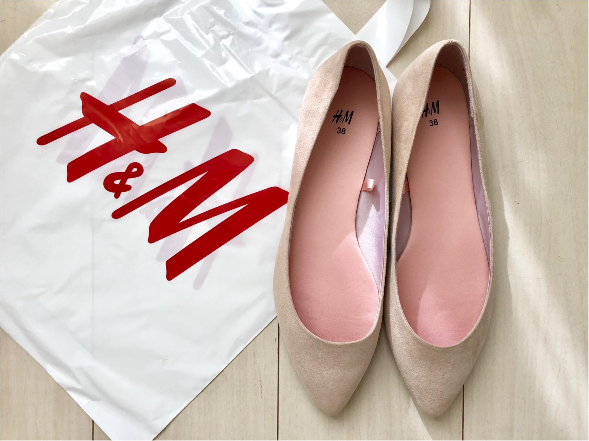 【ブラックフライデー】H&Mでお買い物!プチプラシューズは驚きの¥〇〇〇❤️_2