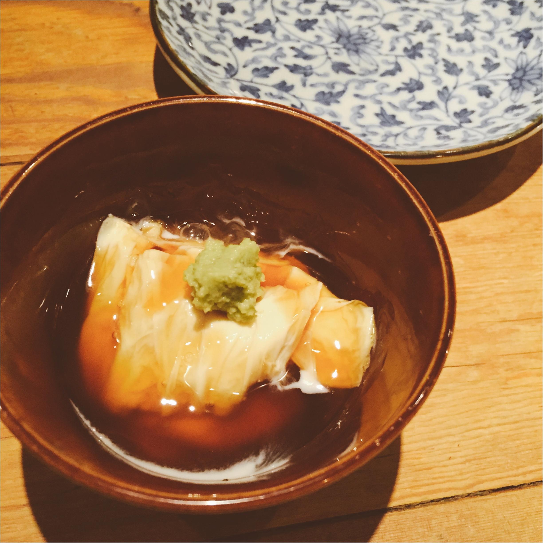 【恵比寿】そば・しゃぶしゃぶ・日本酒を楽しむなら『まにん』✨黒豚つけ麺そばが絶品〜♡_4