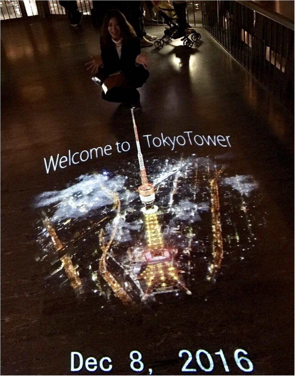 東京散歩~東京タワーのプロジェクションマッピング_5