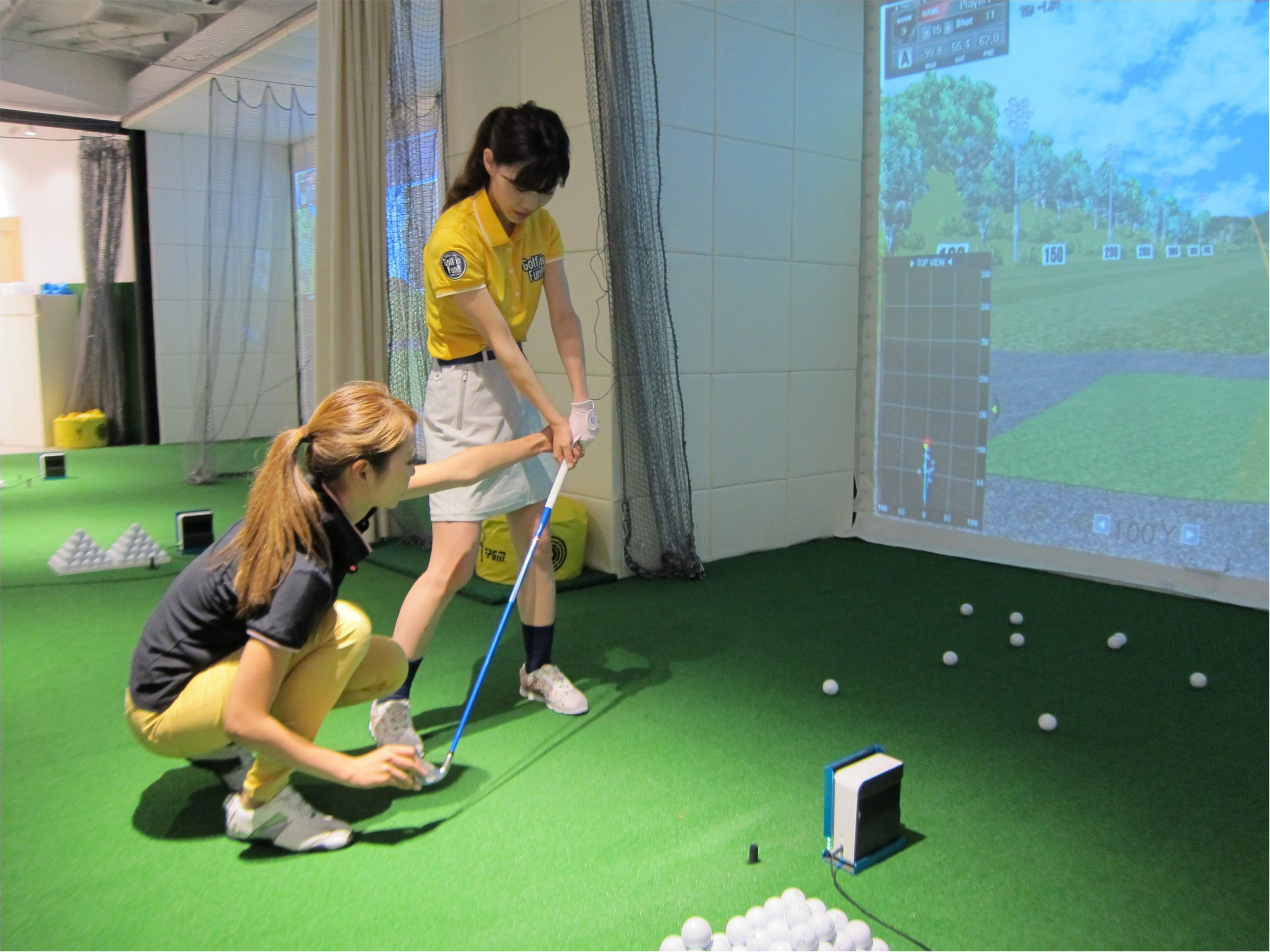 【ゴルフレッスン*onward golf academy@二子玉川】改めてレッスンに行っています!_4