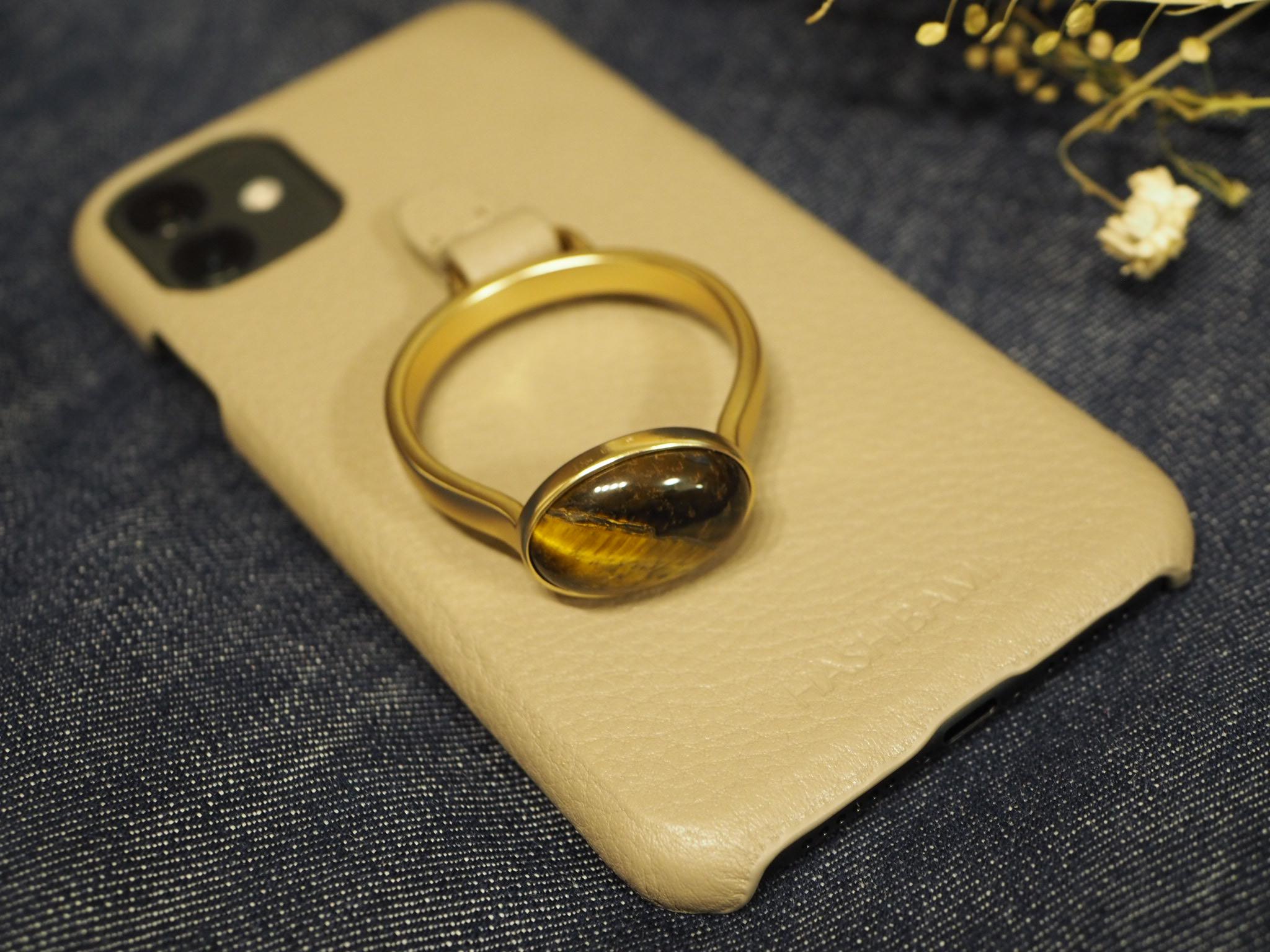 【HASHIBAMI】の《天然石ストーンリングiPhoneケース》がお洒落で可愛い♡_4