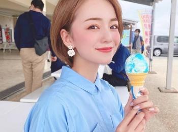 旅の想い出をシェア。沖縄旅行で食べたブルーシールアイス