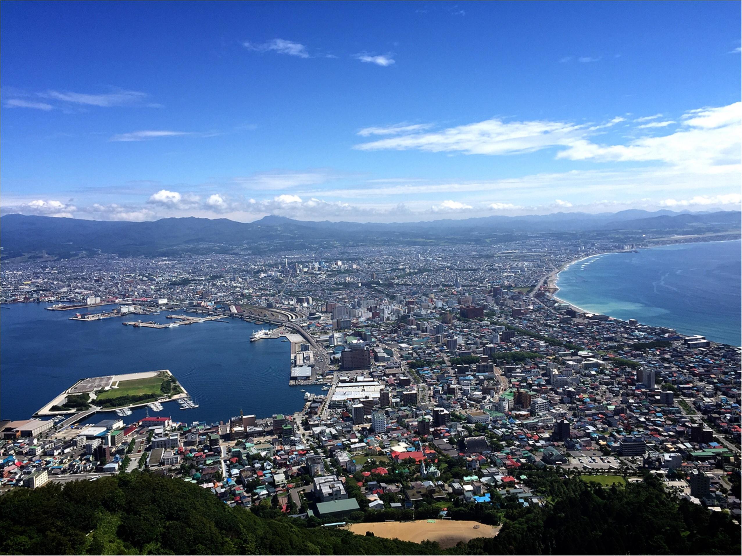 """《夏の北海道・函館》函館の魅力をお届け!ここで見るべき感動した""""景色""""まとめ♡*_5"""