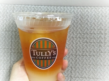 TULLY'S COFFEE【5/19発売 暑い日にぴったり】グレープフルーツの贅沢な果肉の大きさに驚き!!