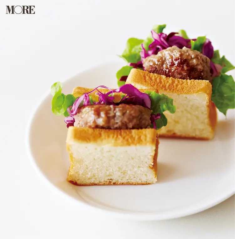 【作り置きお弁当レシピ】2. ひき肉の「ハンバーグでミニバーグサンド」