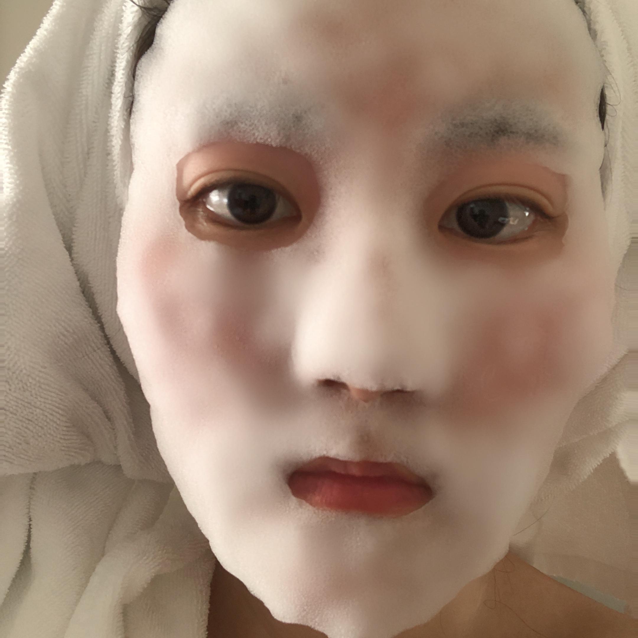 噂の白泡マスクパックレポ。_2