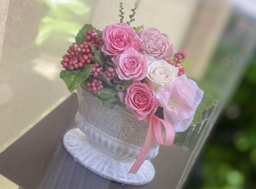 母の日に贈りたい!かわいい華やかなプリザーブドフラワー_4