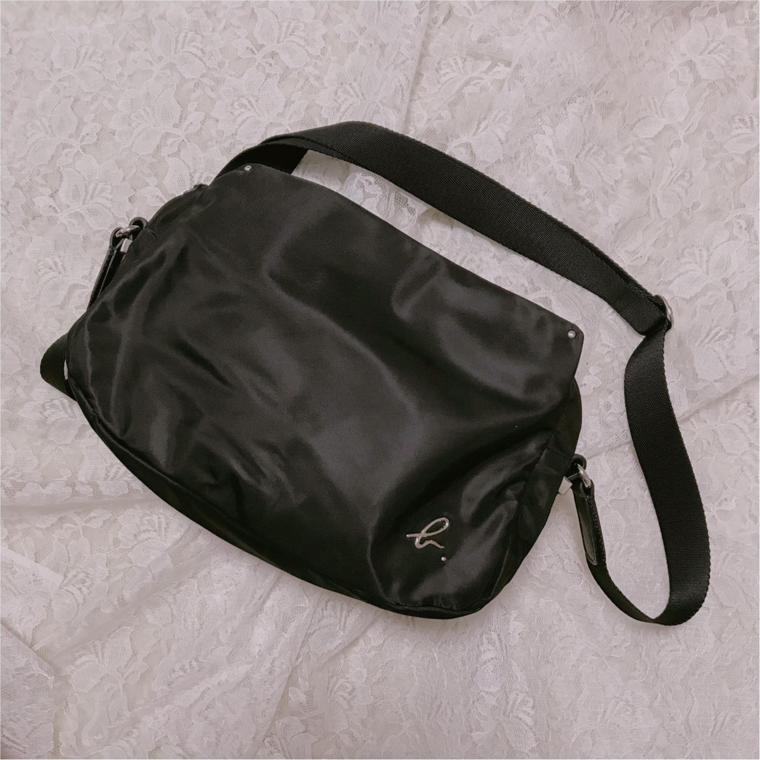 アウトレットでなんと5000円以上オフ❤︎agnes b.のバッグを購入しました!_1
