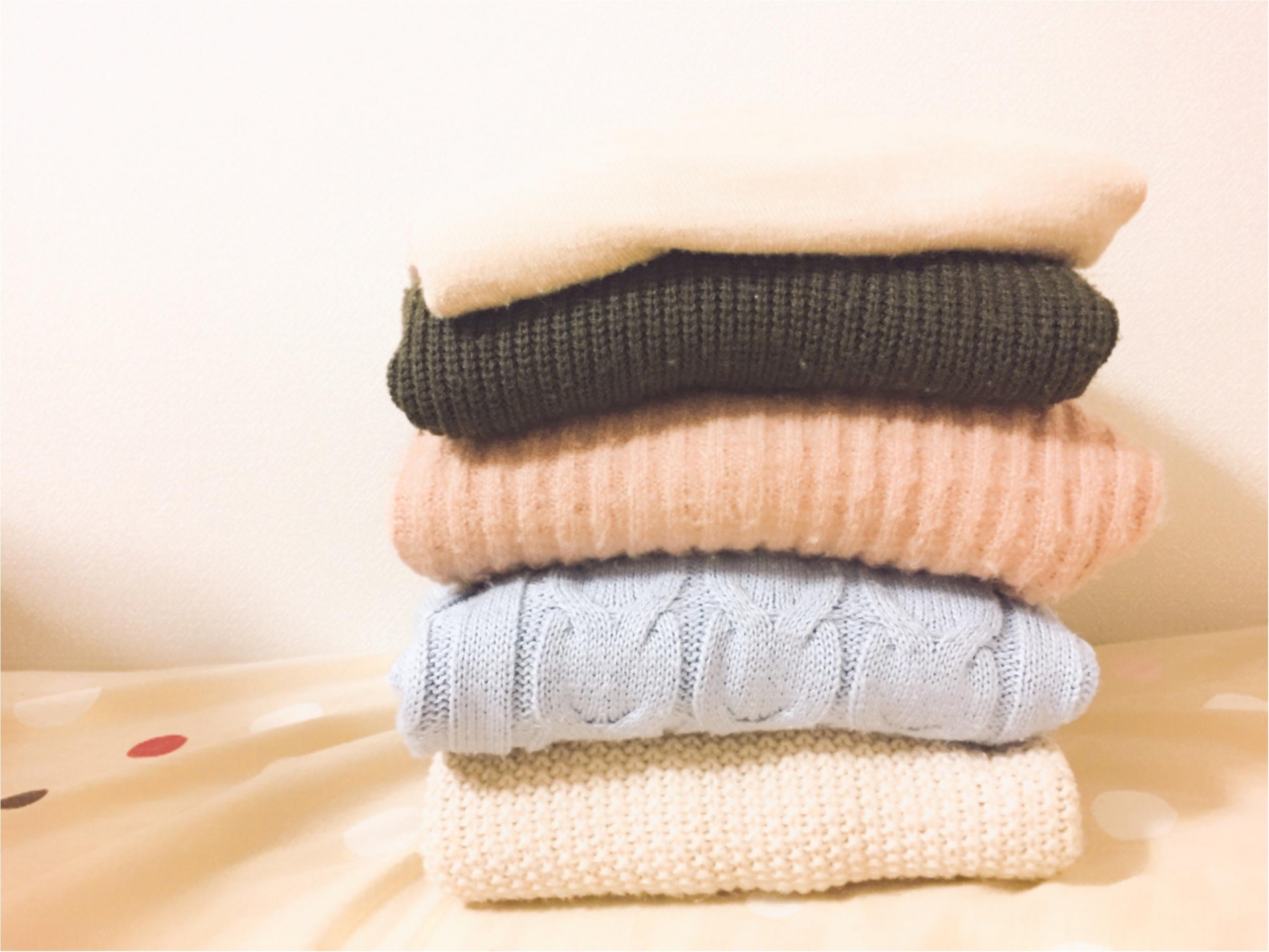 天気がいい日は…お気に入りの洗剤でニットのお洗濯♡*_2