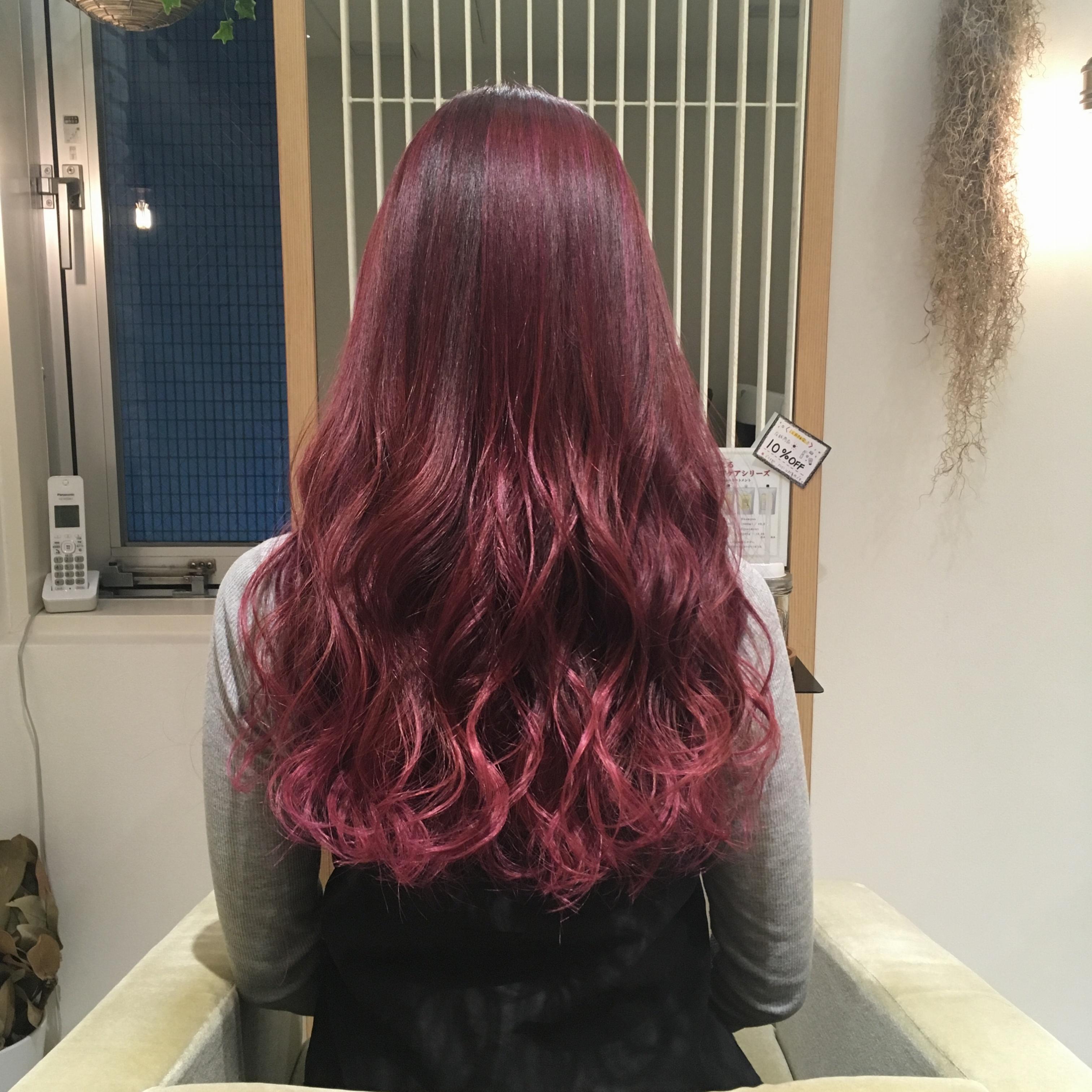 2018年最初のカラーはこの色に決めた!!なりたいカラーが叶うヘアサロン♪_10