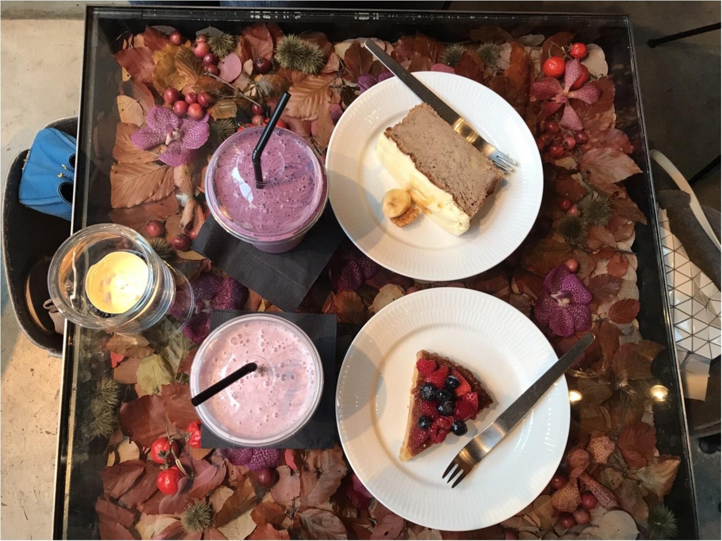【表参道/CAFE】一足早い秋を感じたいならココ❤︎ニコライバーグマンカフェの秋仕様がとっても可愛いんです!_6