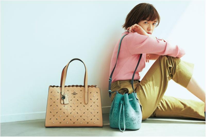 A4トートもショルダーも。溺愛4ブランドの新作バッグで着こなしが決まる!_1