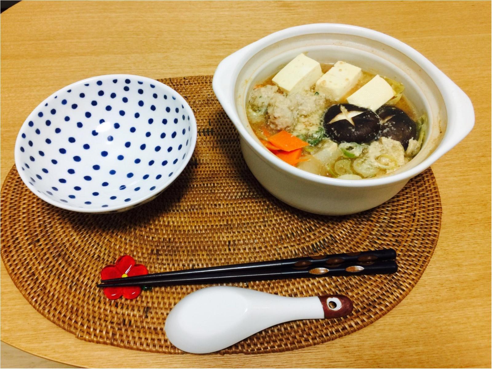 一人鍋のススメ!!【ワンコインの土鍋!】_1