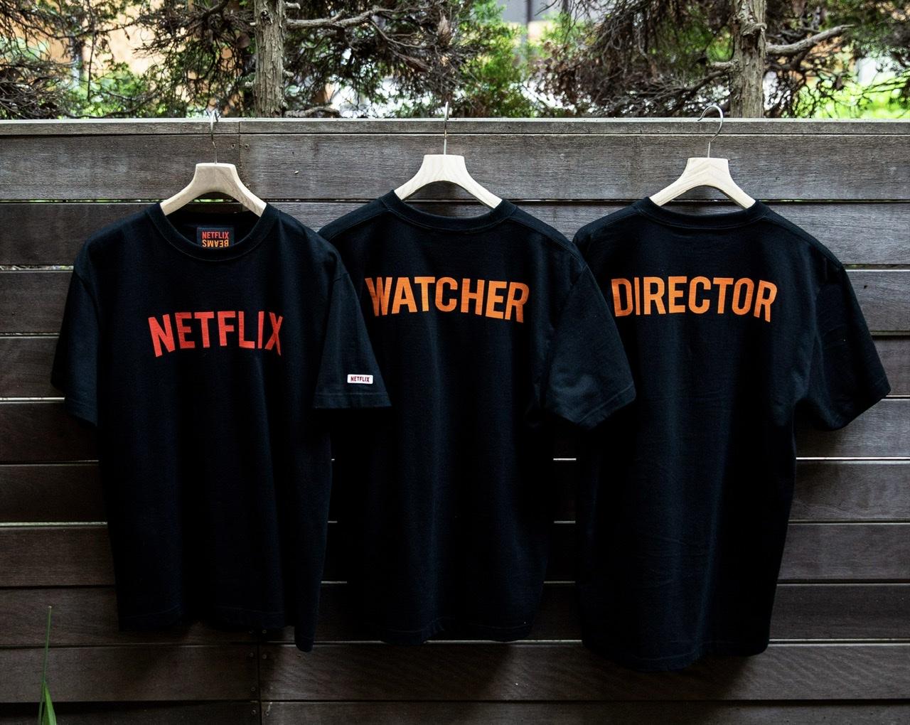 Netflix × BEAMS STAFF T-SHIRT