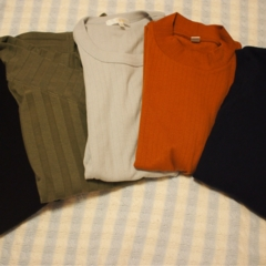 秋服買っちゃいました。