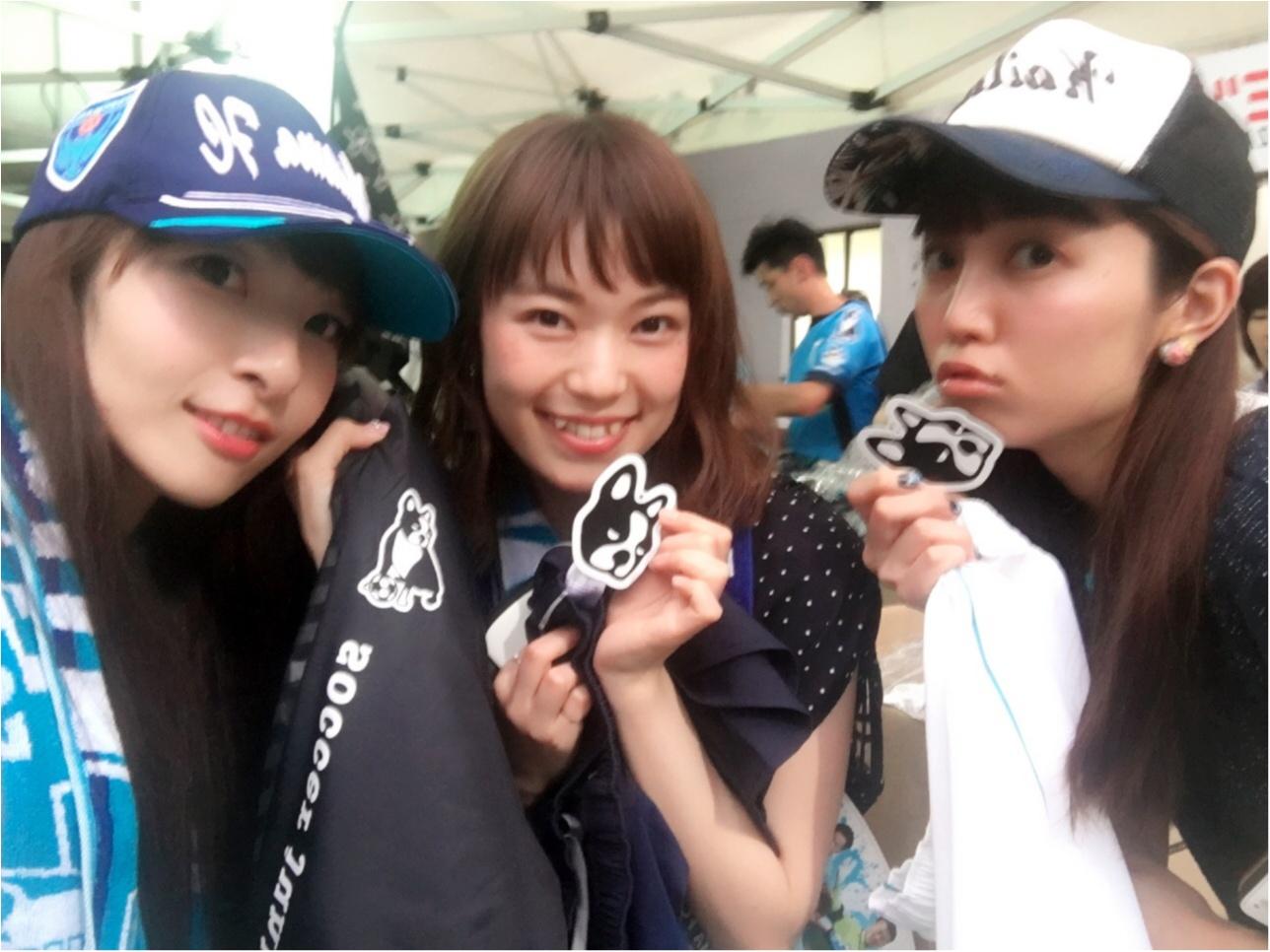 ♡サッカー観戦×モアハピ女子会(*>ω<*)‼︎【横浜FC】♡モアハピ◡̈のぞみ♡_14