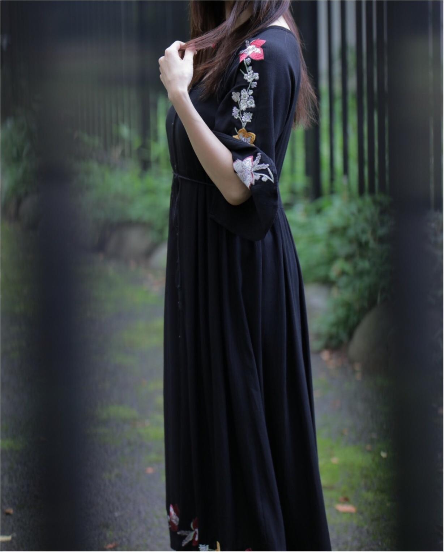 花柄刺繍の存在感が◎1枚で着れちゃう○○のワンピースに一目惚れ☺︎_7