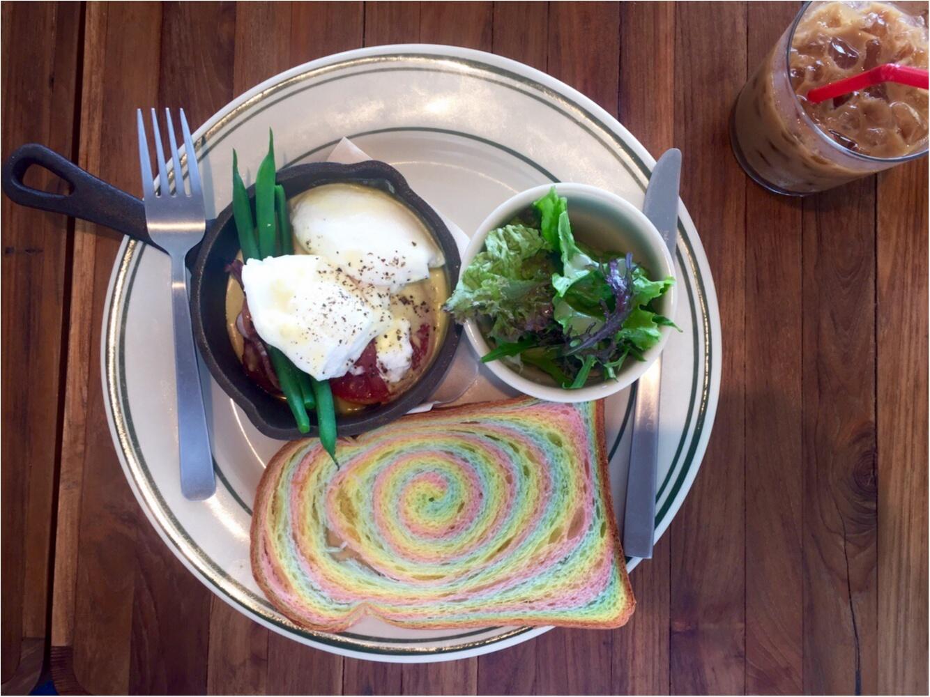 """【FOOD】ロケーション抜群!由比ヶ浜♡材木座テラスでみつけた""""Rainbow Bread""""★_6"""